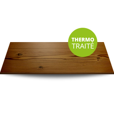 Terrasse en Sapin thermo